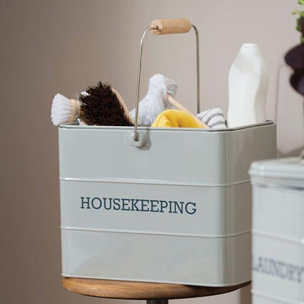 Набор для уборки KITCHEN CRAFT 33х21х26 см LNHKEEPGRY