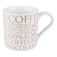 Кружка Konitz «100 % Кофе» 370 мл белая 11 1 618 1811