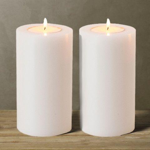 Свечи декоративные, набор из 2 шт, ROOMERS FURNITURE, 106948(ACC06948)