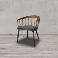 Полукресло Батавиа, ROOMERS, Batavia Dining Chair/Aphrodite 180