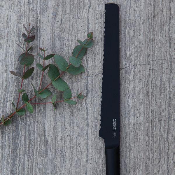 Нож для хлеба 23 см BergHOFF Ron (черный) 8500543