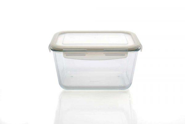 Стеклянный контейнер с пластиковой крышкой BergHOFF  23,5x17x13 см 2,7 л 8500065