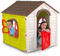 Домик детский KETER MY GARDEN HOUSE светло-зеленый, синий 17197223
