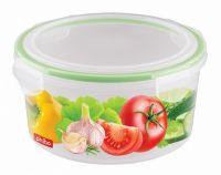Контейнер для холодильника и микроволновой печи BYTPLAST SUPER LOCK 550 мл с декором B11396