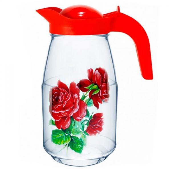 Кувшин MDECOR Роза 1,5 л MDT96063