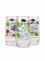 Набор стаканов LUMINARC СМУЗИ 3 шт 350 мл высокие P7795