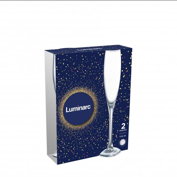Набор бокалов для шампанского LUMINARC ЭТАЛОН 2 шт 170 мл P8107