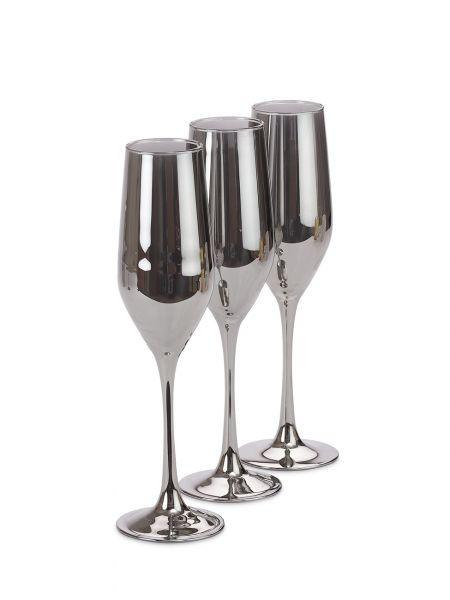 Набор бокалов для шампанского LUMINARC СЕЛЕСТ 160 мл СИЯЮЩИЙ ГРАФИТ 3 шт P8273