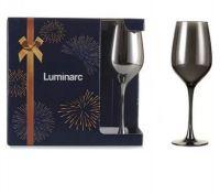 Набор бокалов для вина LUMINARC СЕЛЕСТ 350 мл СИЯЮЩИЙ ГРАФИТ 3 шт P8275