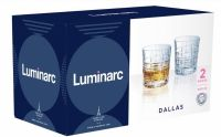 Набор стаканов низких ДАЛЛАС 300мл 2шт Luminarc Q3087