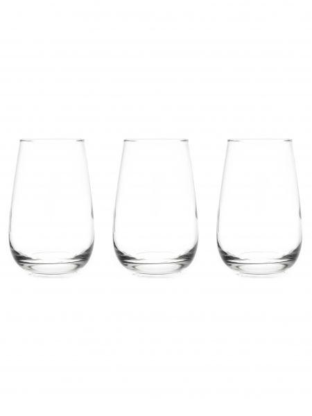 Набор стаканов высоких ЛЕТНИЙ 350мл 3шт