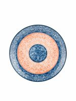 Тарелка обеденная FIORETTA ORIENTAL CORAL 24 см TDP411