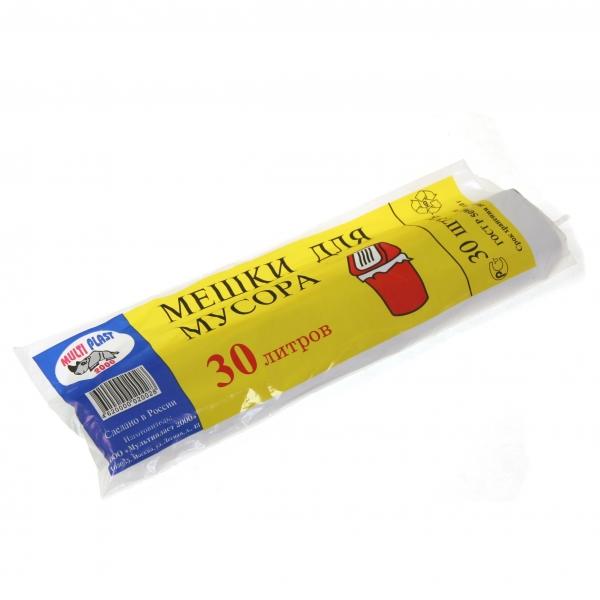 Пакеты для мусора MULTIPL2000 30 л 30 шт TN028