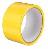 Лента клейкая упаковочная желтый PACKING UN557