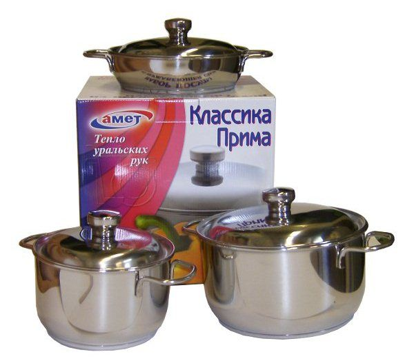 Набор посуды Амет «Классика-прима» 6 предметов 1с1001