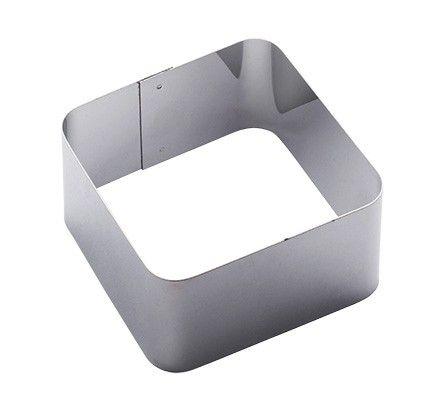 Форма для гарнира квадратная 8,5х8,5х5 см ФДГ-КВ