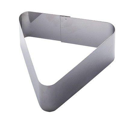 Форма для гарнира треугольная 11,5х9,5х5 см ФДГ-ТР