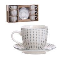 Набор чашек для кофе Topos 190мл 6шт. 285310 D'casa