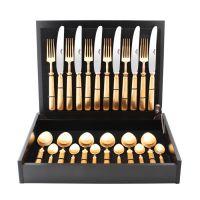 Набор столовых приборов Cutipol PICCADILLY GOLD матовый 24 предмета, 9142