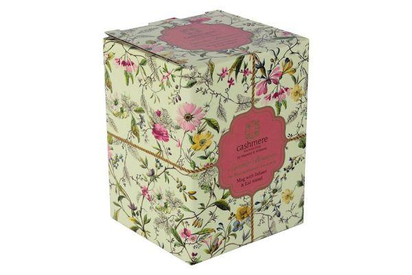Чашка с блюдцем Летние цветы в подарочной упаковке, MW637-WK03250