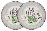 Набор из 2-х обеденных тарелок Лаванда, AL-120E2257-L-LF