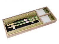 Набор для суши 8 предметов на 2 персоны в деревянной коробке FISSMAN, 9580
