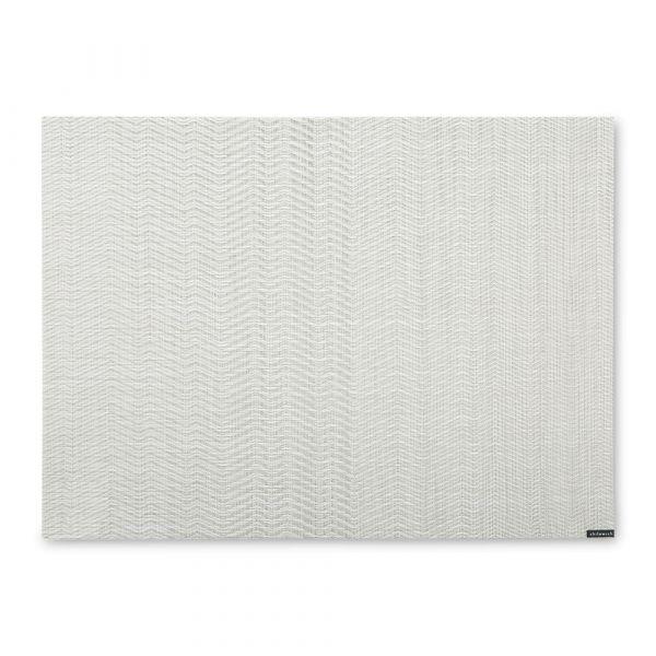 Салфетка подстановочная, винил, 36х48, Gray, серия Wave, CHILEWICH