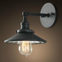 Светильник RESTORATION HARDWARE «Скон» 16x21x19 см цвет античный серый DTL9102-M
