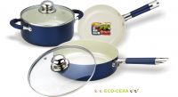 Набор посуды c покрытием Eco-Cera из 5 предметов Vitesse VS-2223