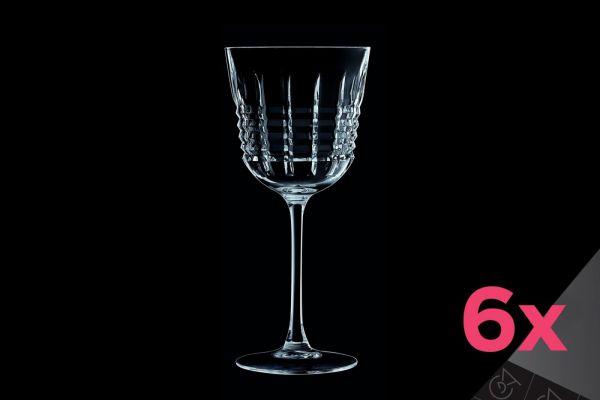 Набор бокалов для вина CRISTAL D»ARQUES RENDEZ-VOUS 6 шт 250 мл L6627