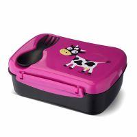 Ланч-бокс детский с охлаждающим элементом N'ice Box™ Cow фиолетовый 106102 Carl Oscar