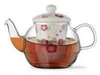 Заварочный чайник CASABLANCA 600 мл с керамическим фильтром и крышкой FISSMAN, 9276