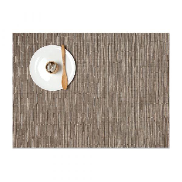 Салфетка подстановочная CHILEWICH, жаккардовое плетение, винил, (36х48) Dune (100105-010) Bamboo, 0025-BAMB-DUNE