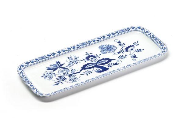Блюдо для кекса La Rose des Sables «Синий лук» прямоугольное 37,7 см 610837 1313