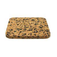 Подставка под горячее HANS & GRETCHEN квадратная 14,5x14,5 см цвет коричневый 28MC-5201