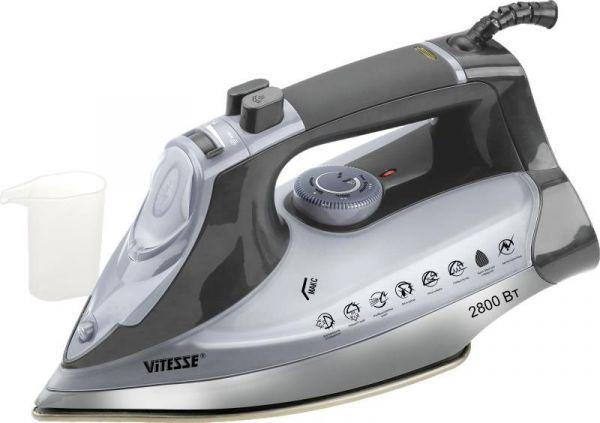 Паровой утюг Vitesse 1,6 кг черно-серый VS-685