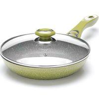 Сковорода 24 см с покрытием из мраморной крошки, с крышкой Mayer&Boch, 26900