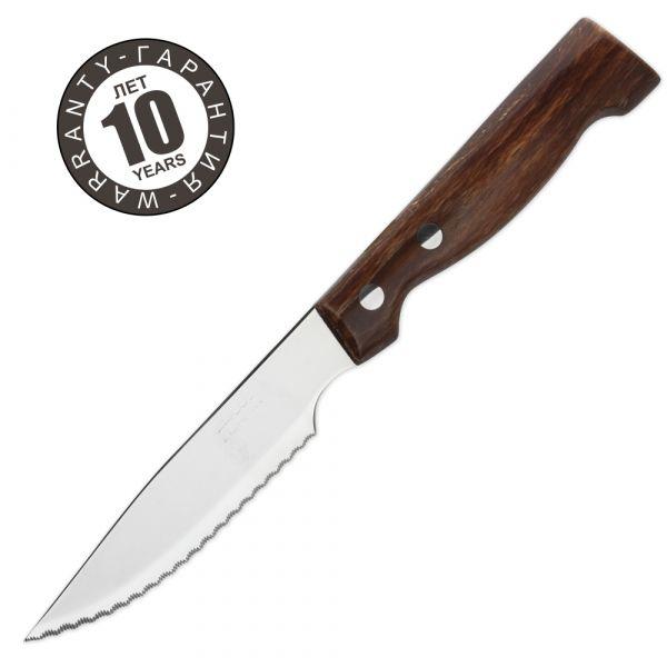 Нож столовый для стейка 120 мм, рукоять прессованное дерево, серия Steak Knives, 372700, ARCOS