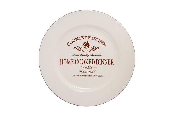 Закусочная тарелка Terracotta «Кухня в стиле Кантри» TLY802-2-CK-AL