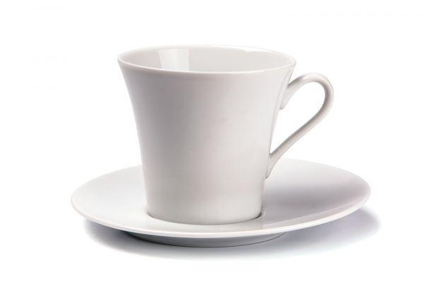 Чайная пара 200 мл, Tunisie Porcelaine, серия ASYMETRIQUE
