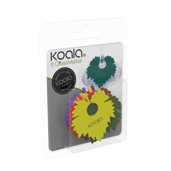 Маркеры для бокалов Wine Leaf 6шт. 66260000 Koala