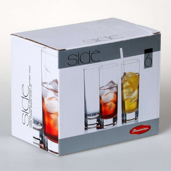 Набор стаканов SIDE 6 шт. 210 мл (коктейль)