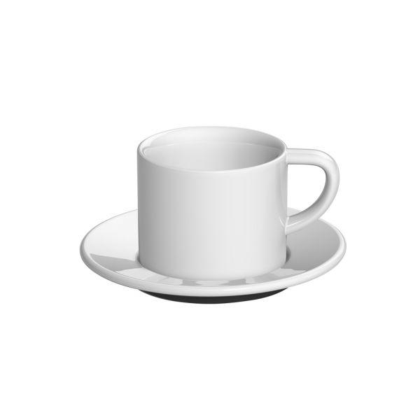 Кофейная пара LOVERAMICS 150 мл цвет белый C098-10BWH/C098-11BWH