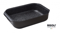 Противень литой Risoli Granit 40 см, 00102RGR/40H