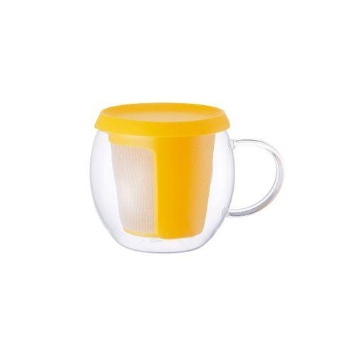Кружка-чайник Kinto 350 мл цвет желтый 22778