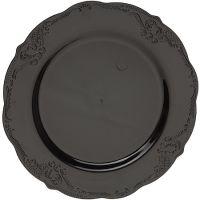 "Тарелка ""Винтаж"" 19 см черная, 10 шт Mayer&Boch, 14343"