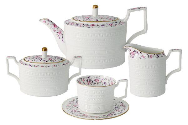 Чайный сервиз из 15 предметов на 6 персон Стиль, C2-TS_15-6402AL