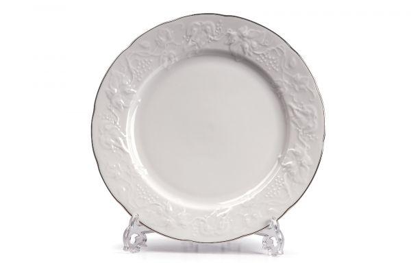 Тарелка десертная 21 см, La Rose des Sables, серия VENDANGE Filet Platine, 690121 0019