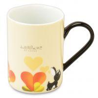 Набор 2шт кружек 0,3л (желтые) Lover by Lover 3800012 BergHOFF