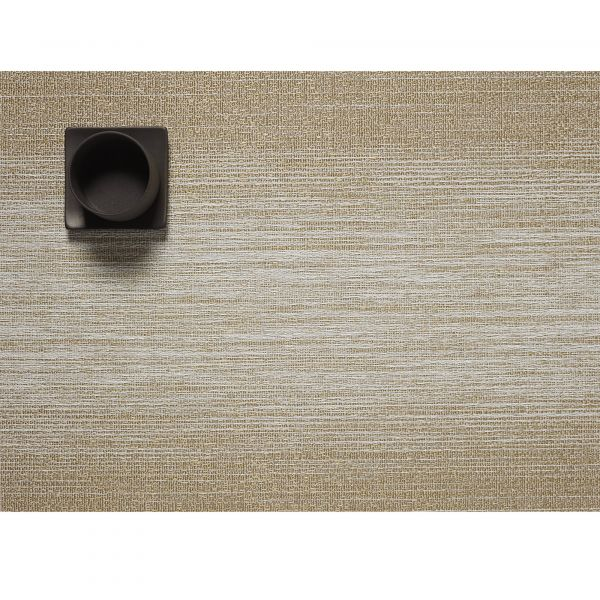 Салфетка Chilewich OMBRE подстановочная материал винил 36x48 см Gold 100455-001